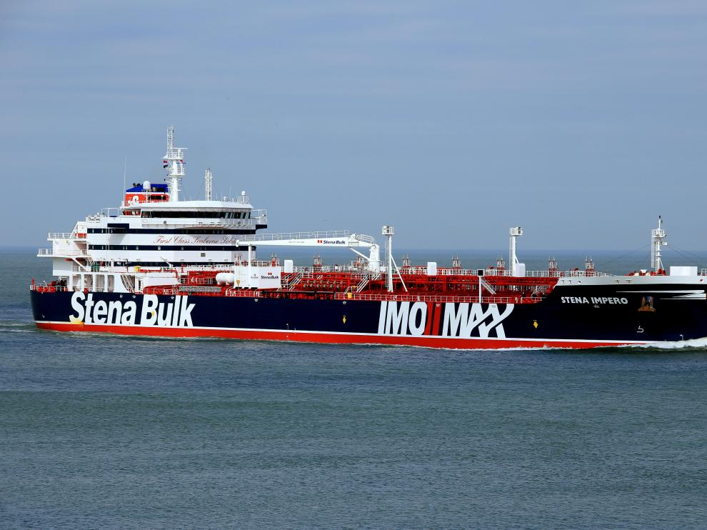 El petrolero británico Stena Impero fue capturado el viernes