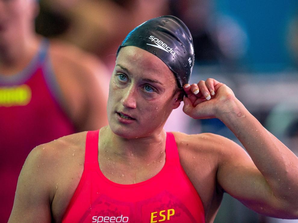 Mireia Belmonte no podrá competir por las medallas en 200 estilos y 400 libres.