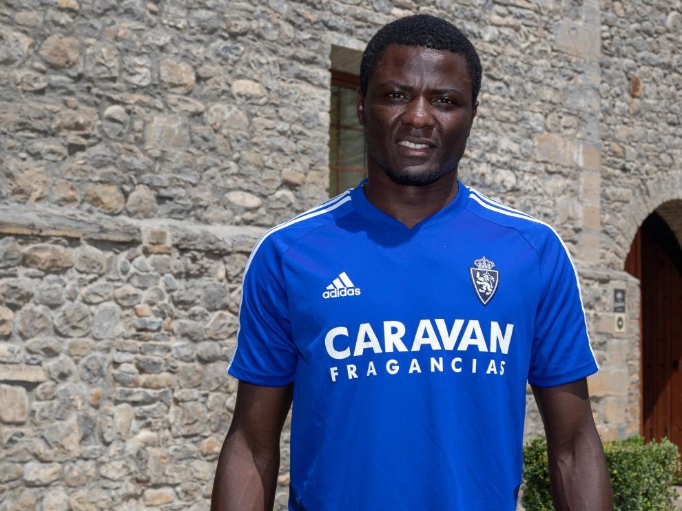 Federico Bikoro posa para HERALDO DE ARAGÓN en Boltaña.