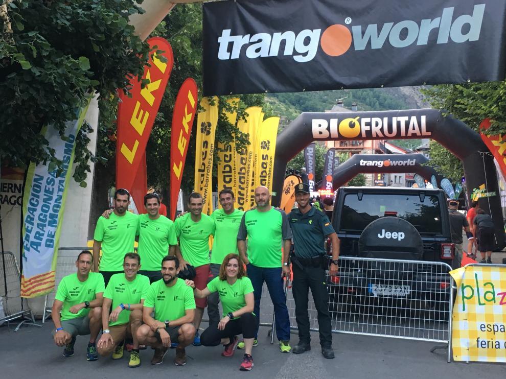 Un total de 20 guardiaciviles que forman parte del Equipo de la Comandancia de Huesca han participando este fin de semana en las diferentes carreras que se llevan a cabo en este evento de montaña.