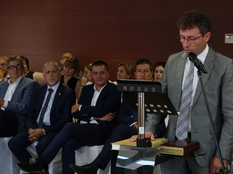 El socialista Marco Ibarz es el nuevo presidente de la comarca del Bajo Cinca.