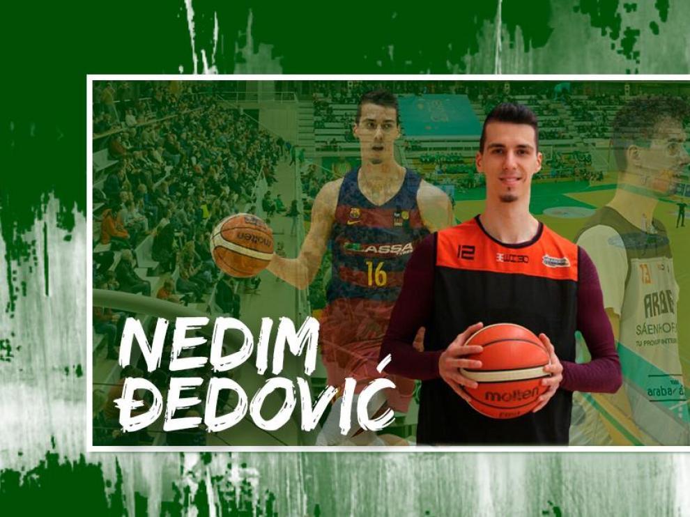 Nedim Dedovic, quinto fichaje del Levitec Huesca.