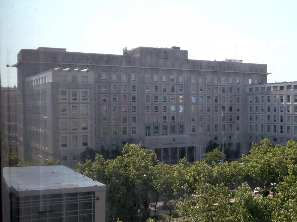 Ministerio de Defensa de España, en Madrid.