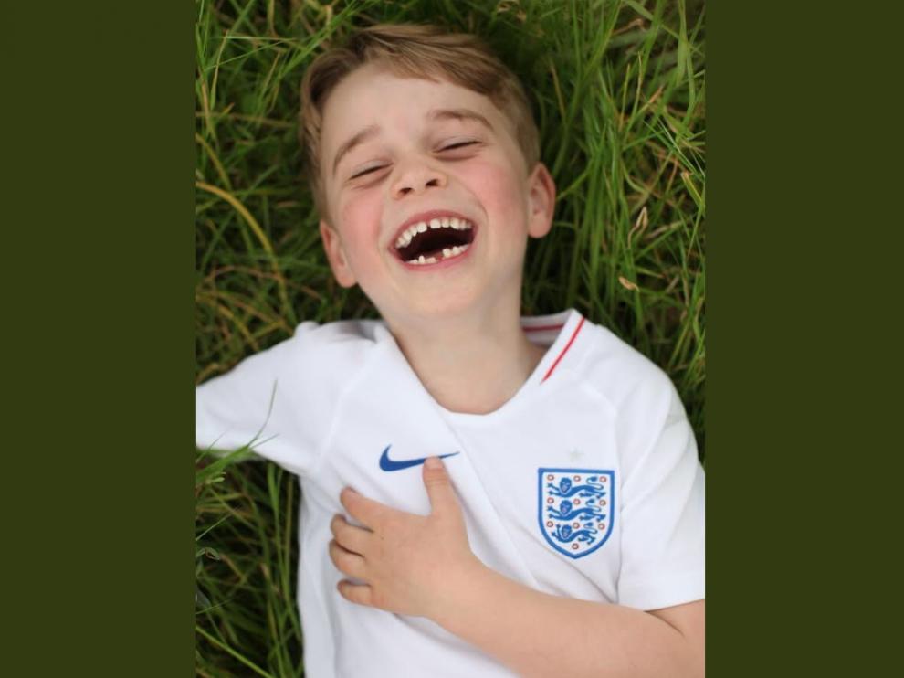 El príncipe Jorge cumple seis años.