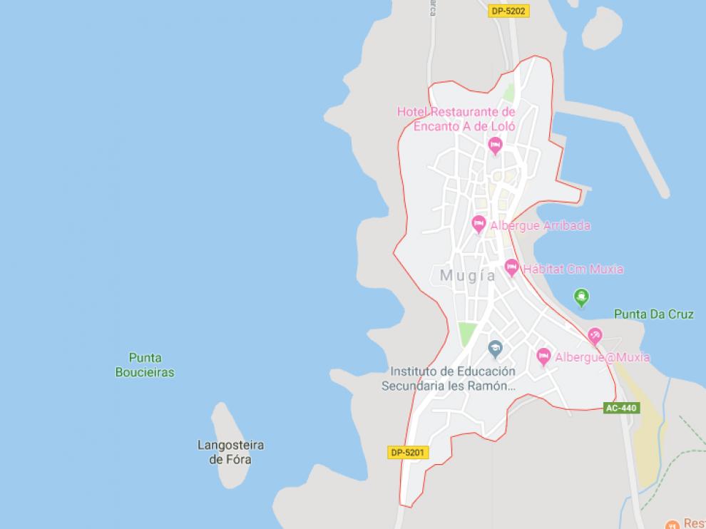 Los hechos ocurrieron en Mugía, La Coruña.