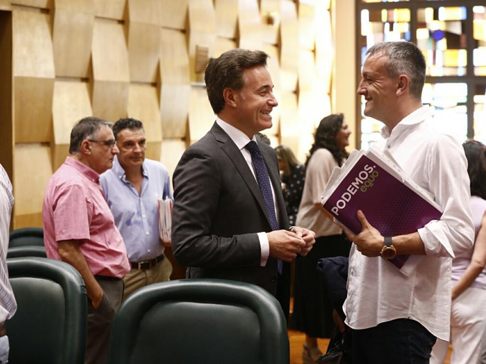 Víctor Serrano y Fernando Rivarés.