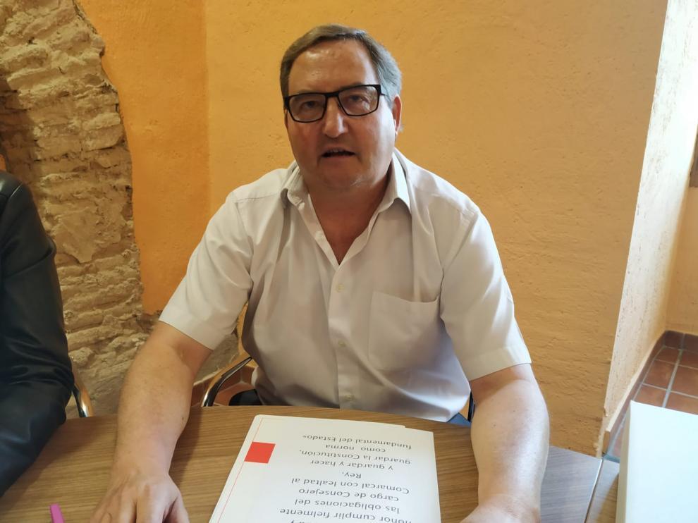 El candidato del PSOE a la Presidencia.