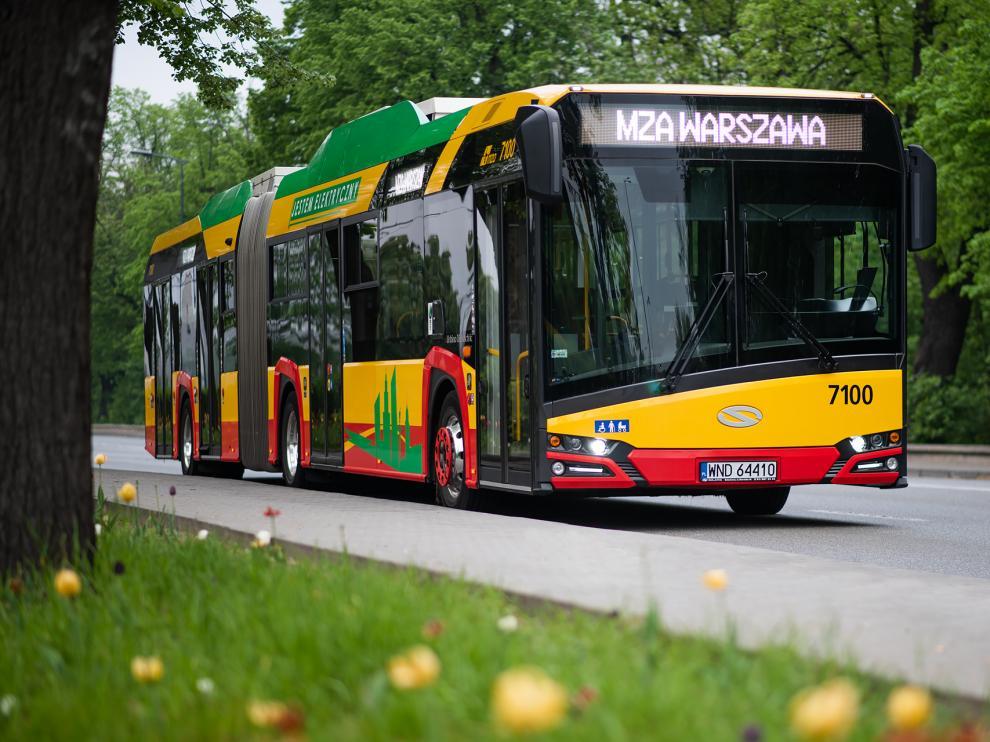 Los vehículos de Varsovia tendrán 18 metros de largo.