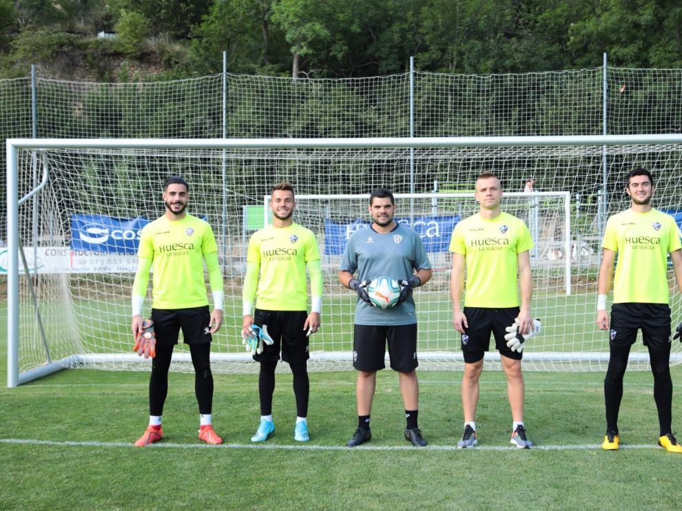 Valera, Álvaro Fernández, Mallén, Jovanovic y Bardají