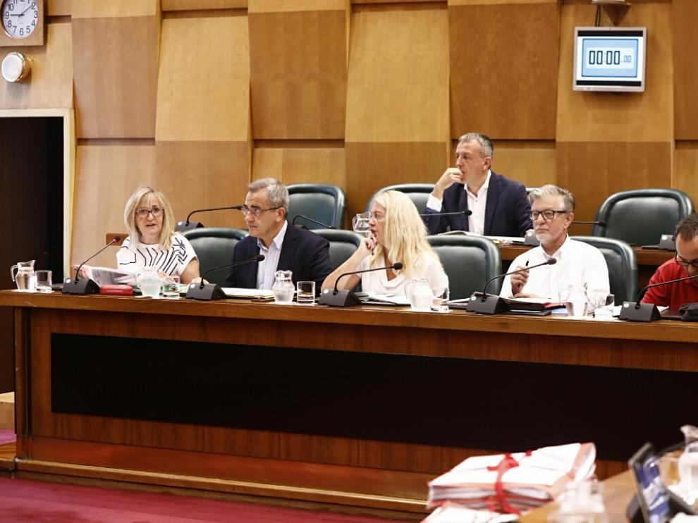 Comisión de Urbanismo que celebró el Ayuntamiento de Zaragoza el pasado lunes.