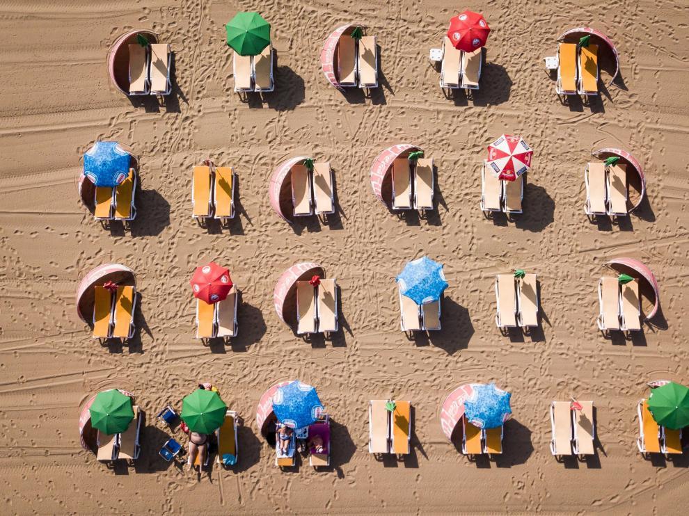 Ola de calor en Holanda.