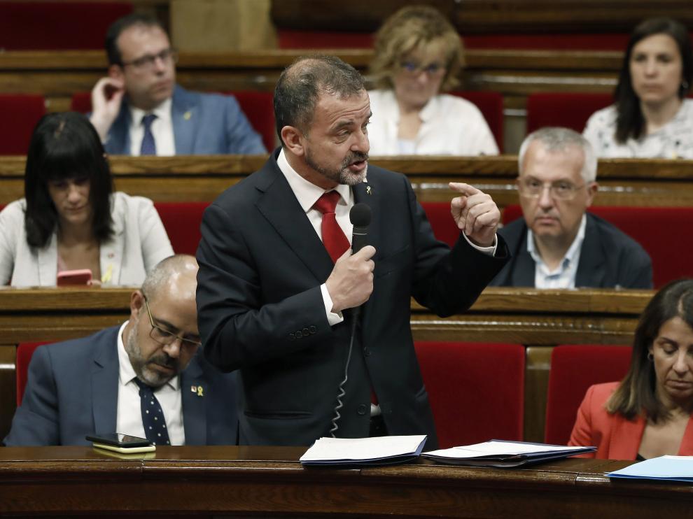 El conseller de Acción Exterior de la Generalitat, Alfred Bosch, en una imagen de archivo.