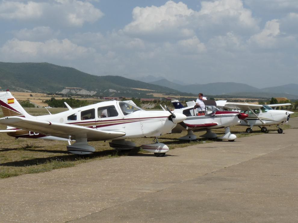 Arranca la Vuelta Aérea a España en el aeródromo de Santa Cilia