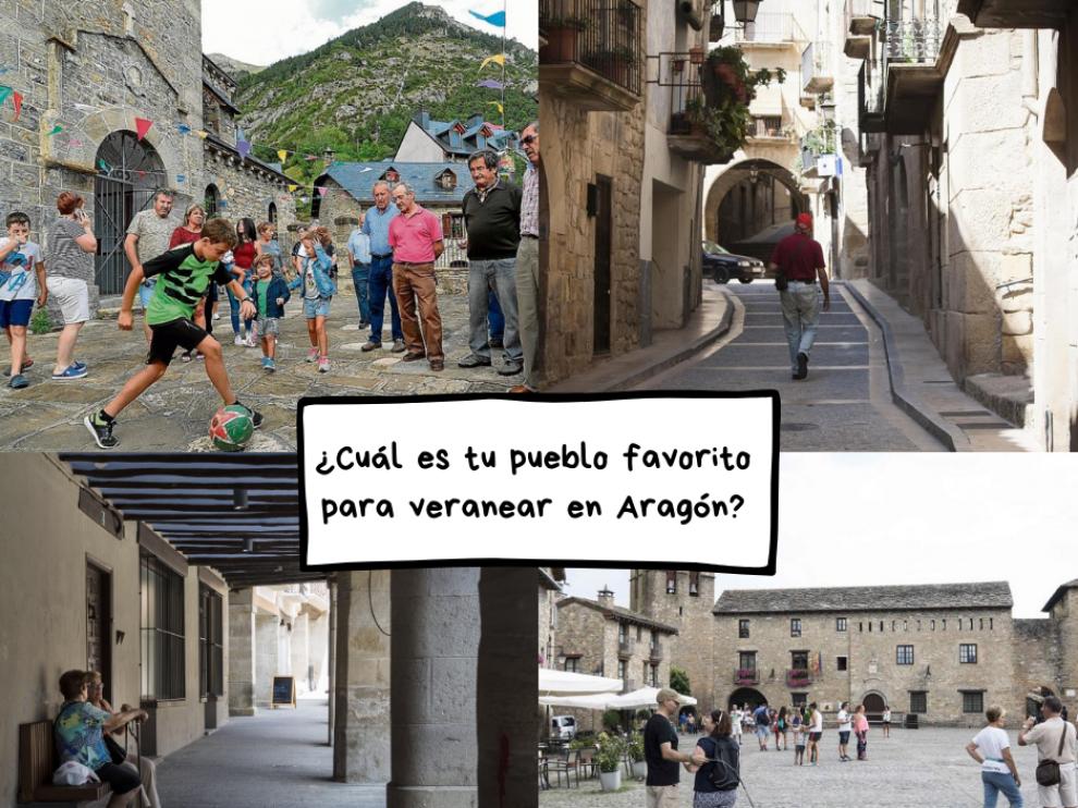 Buscamos el mejor pueblo de Aragón para veranear ¡Vota por el tuyo!