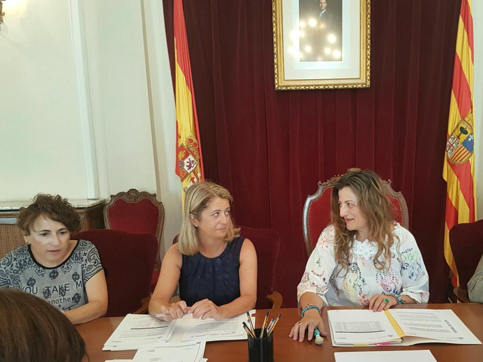 Reunión del Plan Especial de Empleo en la provincia de Huesca.