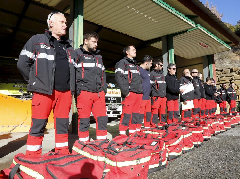Los bomberos voluntarios de Sobrarbe dejaron de prestar servicio a principios de 2018 dejando a la comarca sin apenas personal para la extinción de incendios.