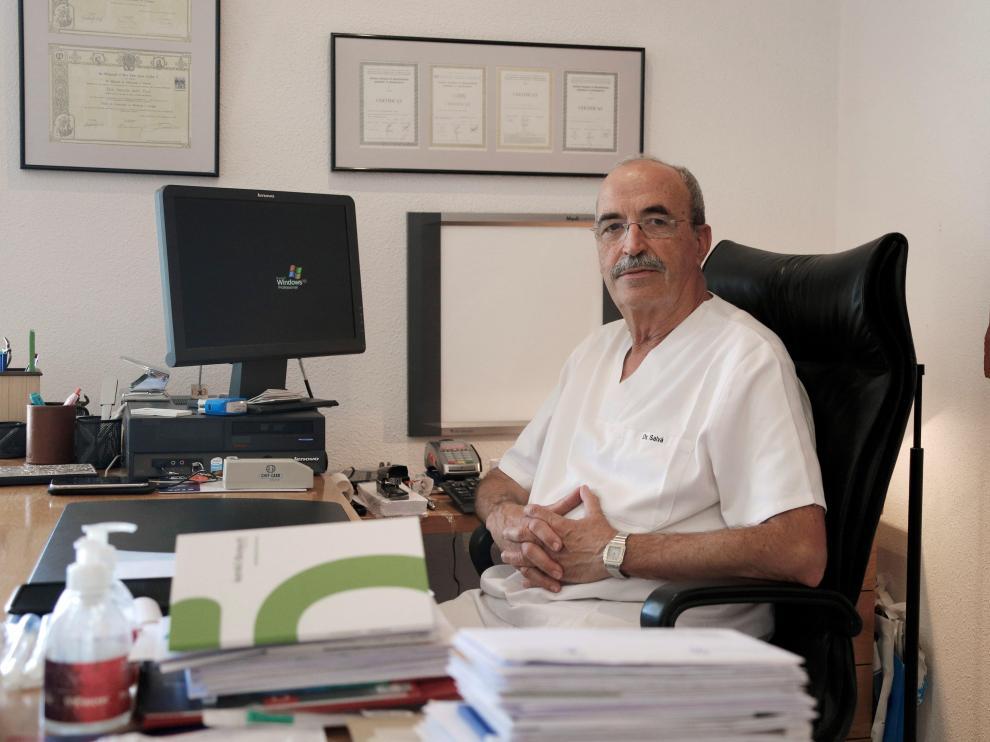 Antonio Salvá, en su despacho.