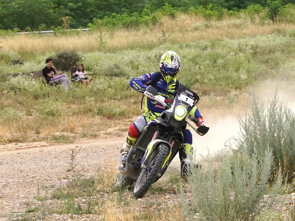 El francés Michael Metge, ganador de la Baja Aragón.