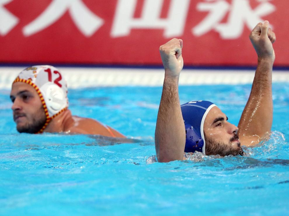 Final del Mundial de waterpolo España-Estados Unidos.