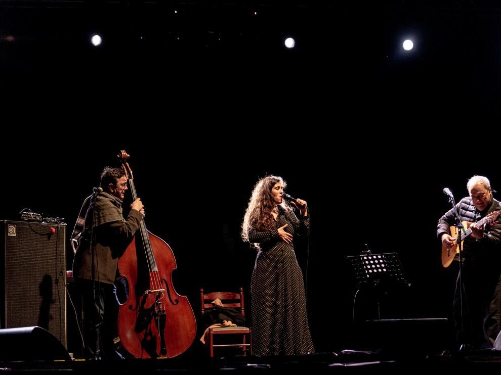 Concierto de Sílvia Pérez Cruz en Pirineos Sur