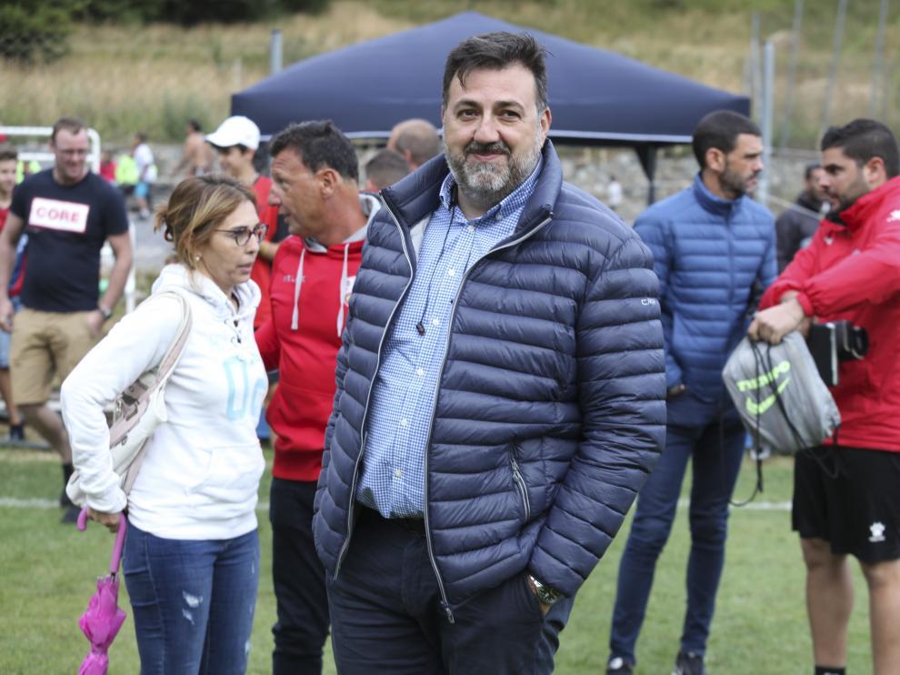 Partido amistoso Huesca Ejea en Benasque /27-7-19 / Foto Rafael Gobantes [[[FOTOGRAFOS]]]