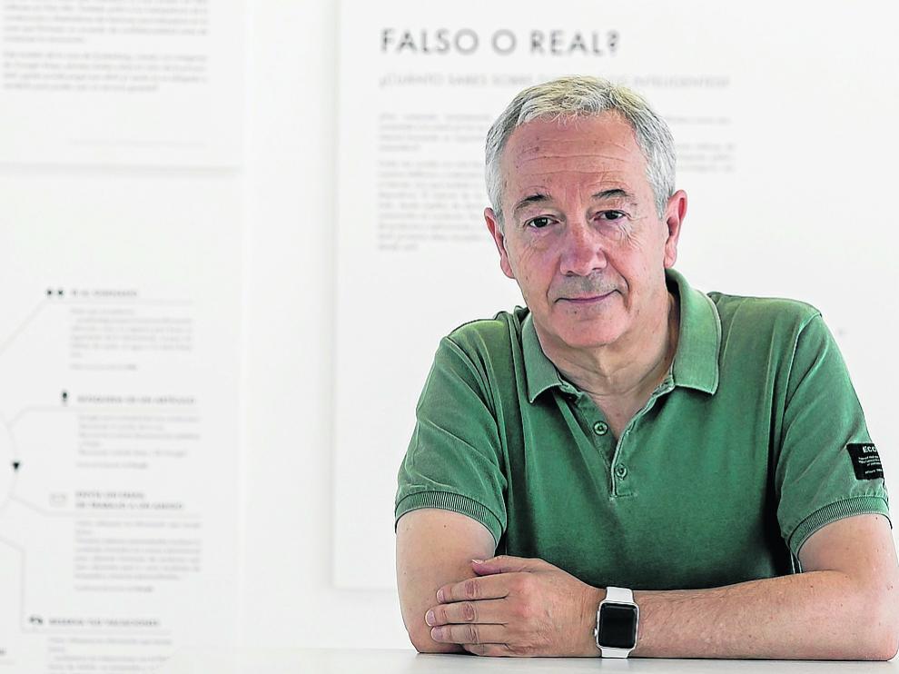 Antonio Bahamonde, presidente de la Sociedad Científica Informática de España, en Etopia.