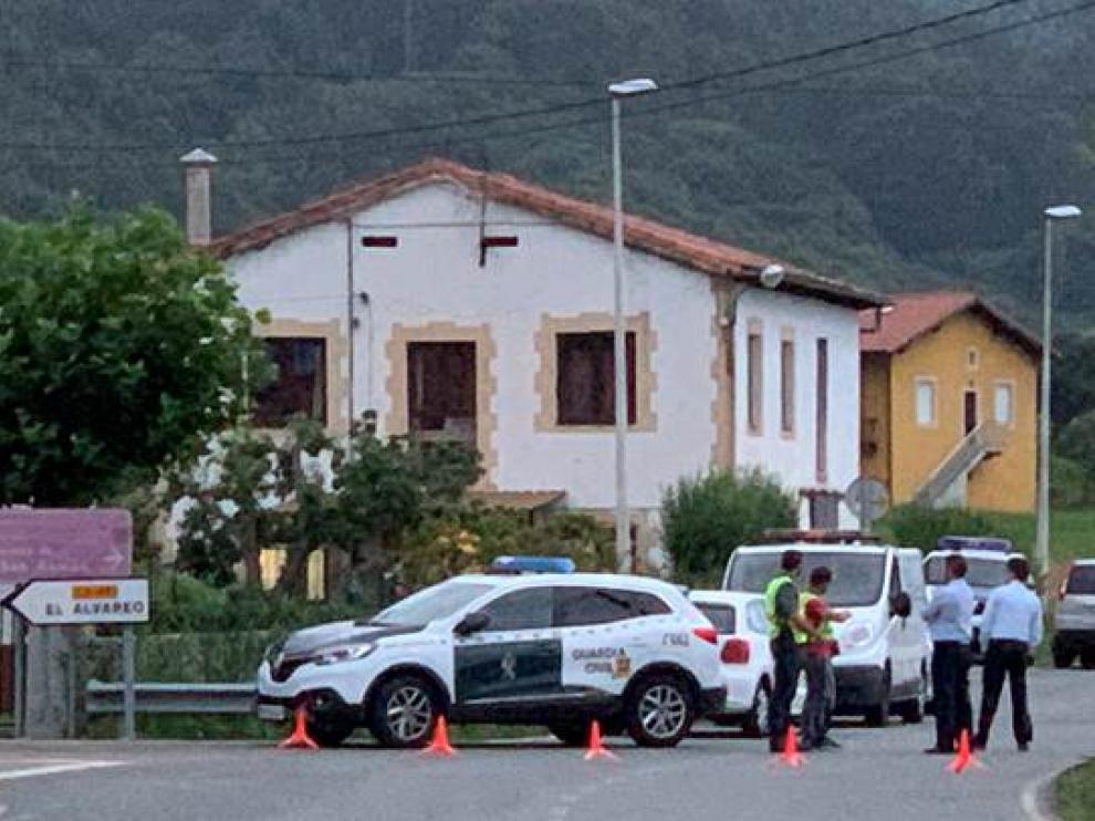 La Guardia Civil sobre las señales del crimen.