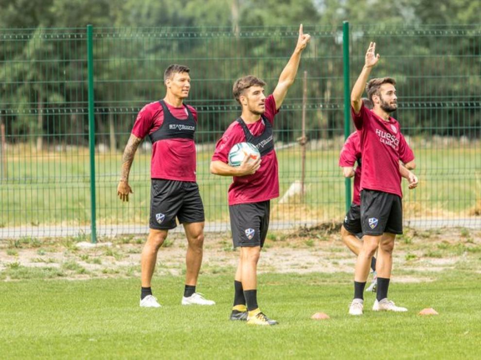 La SD Huesca se despide este martes de Benasque.