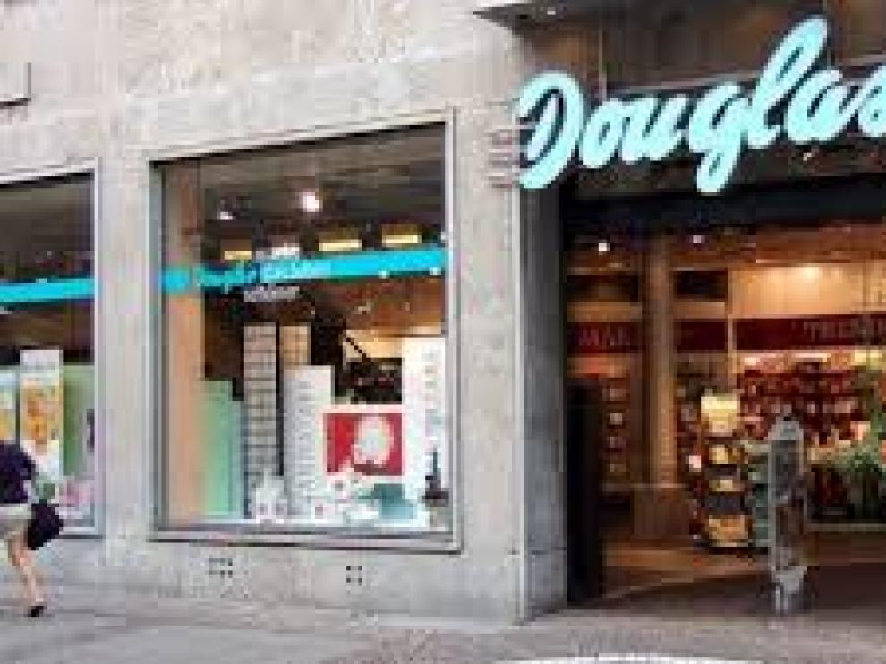 Una de las tiendas de Perfumerías Douglas