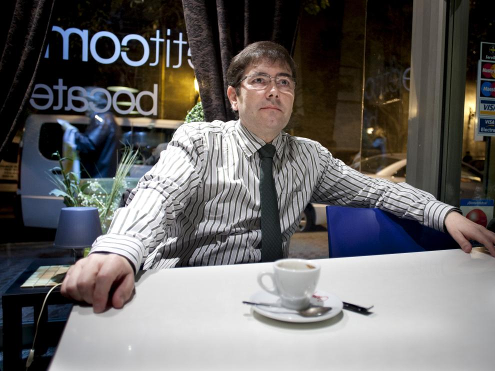 Enrique Villagrasa, periodista y escritor / Foto: Jose Miguel Marco
