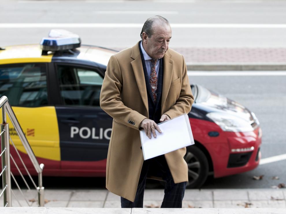 El abogado penalista Javier Notivoli, en Zaragoza.