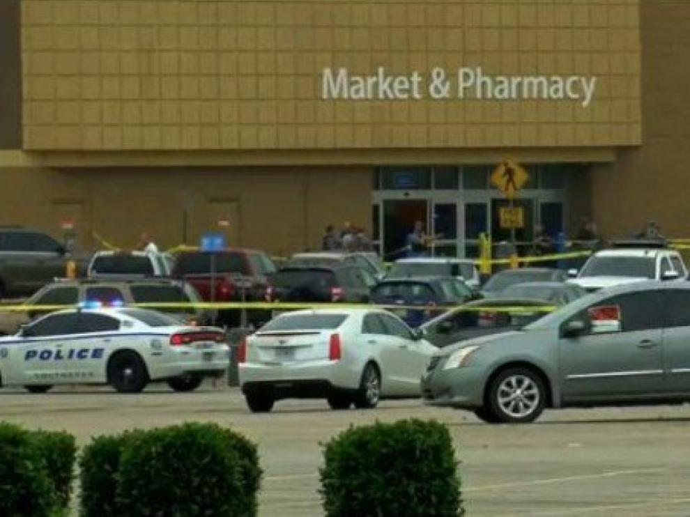 Zona del tiroteo en Misisipi.