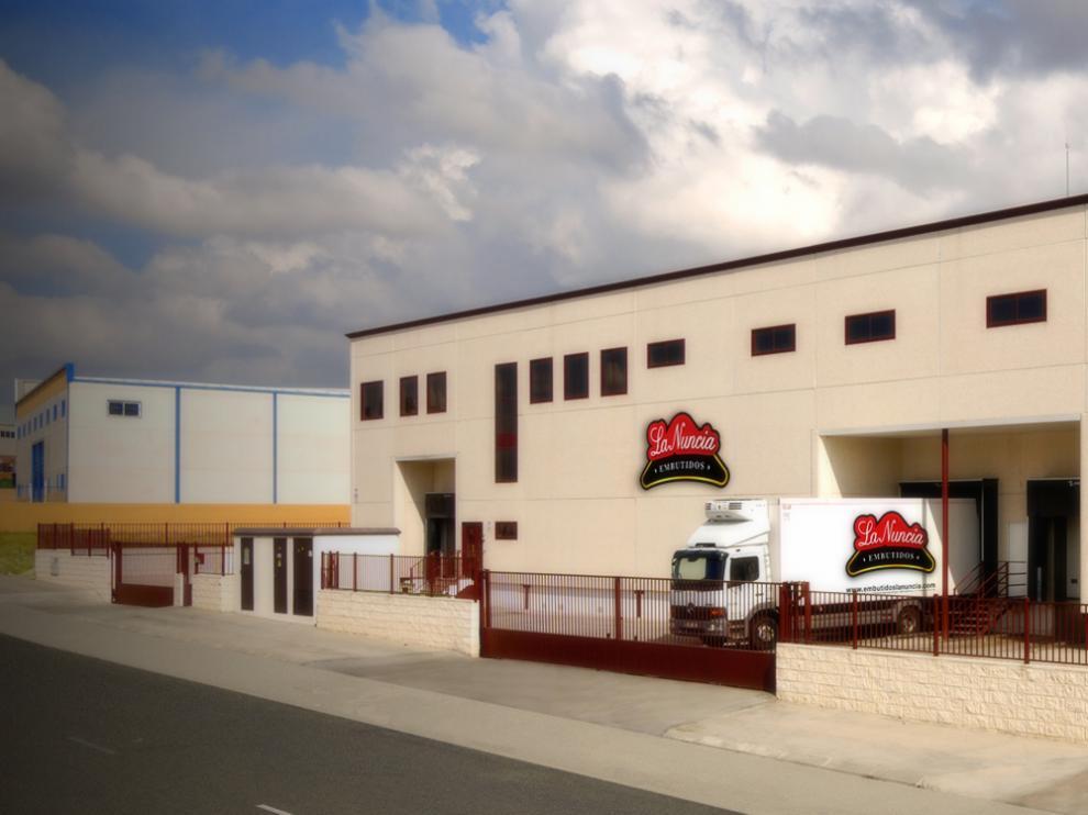 La planta de Embutidos La Nuncia en Toledo.