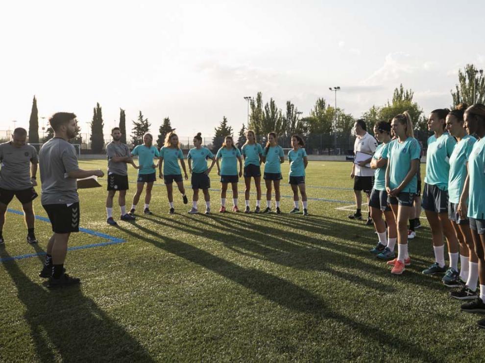 El Zaragoza Femenino inicia la pretemporada
