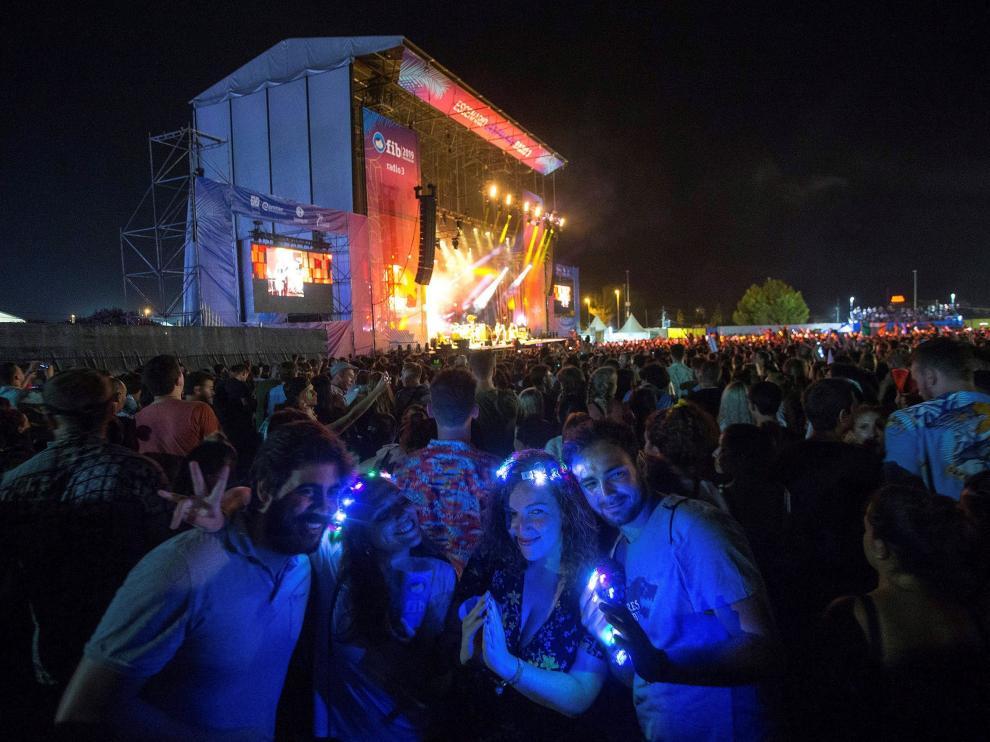 Imagen de la edición de este año del Festival Internacional de Benicássim.