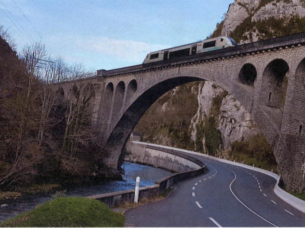 Viaducto canfranero