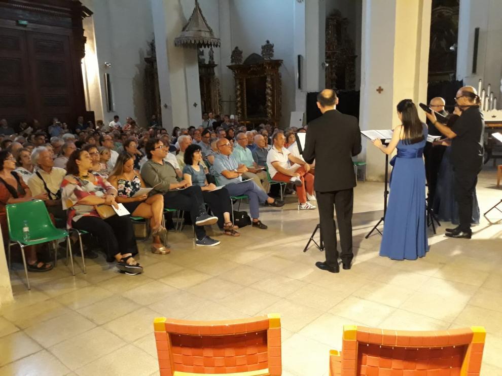 Inicio del XLI Curso y Festival de Música Antigua de Daroca.