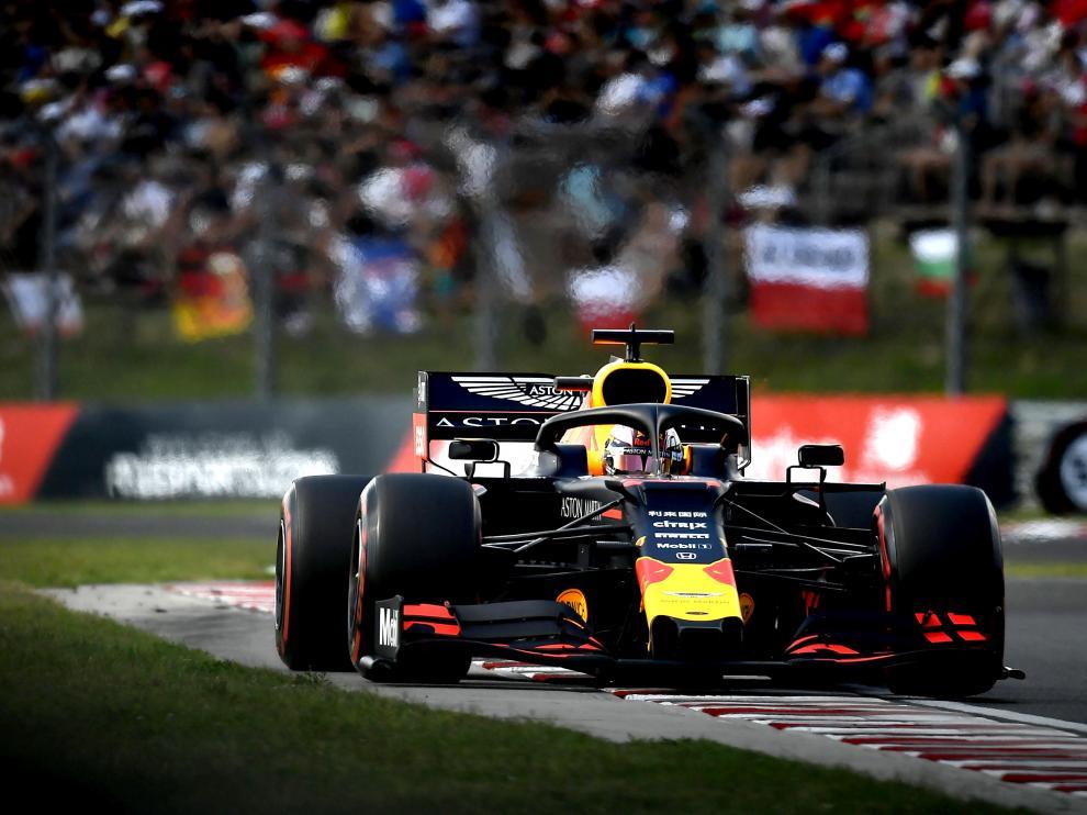 Verstappen en el Gran Premio de Hungría.