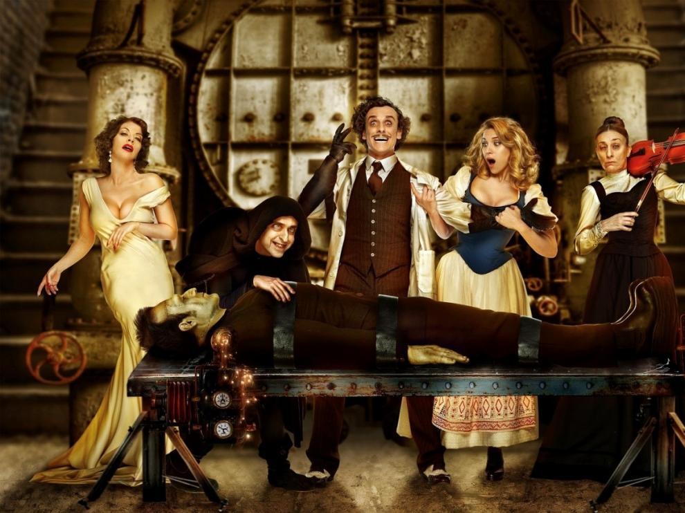 La comedia musical 'El Jovencito Frankenstein' llegará a Zaragoza en noviembre.
