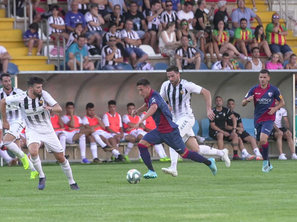 Futbol. partido amistoso entre S D Huesca y Castellon en Teruel. Foto Antonio Garcia/Bykofoto. 04/08/19 [[[FOTOGRAFOS]]]