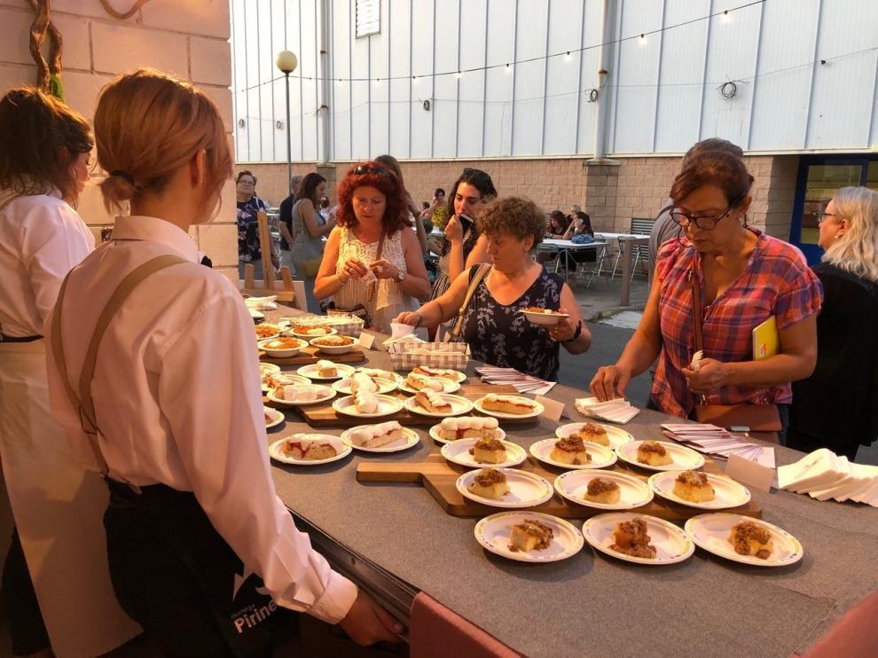 Unas 63.500 tapas y vinos vendidos en tres días del Festival Vino Somontano