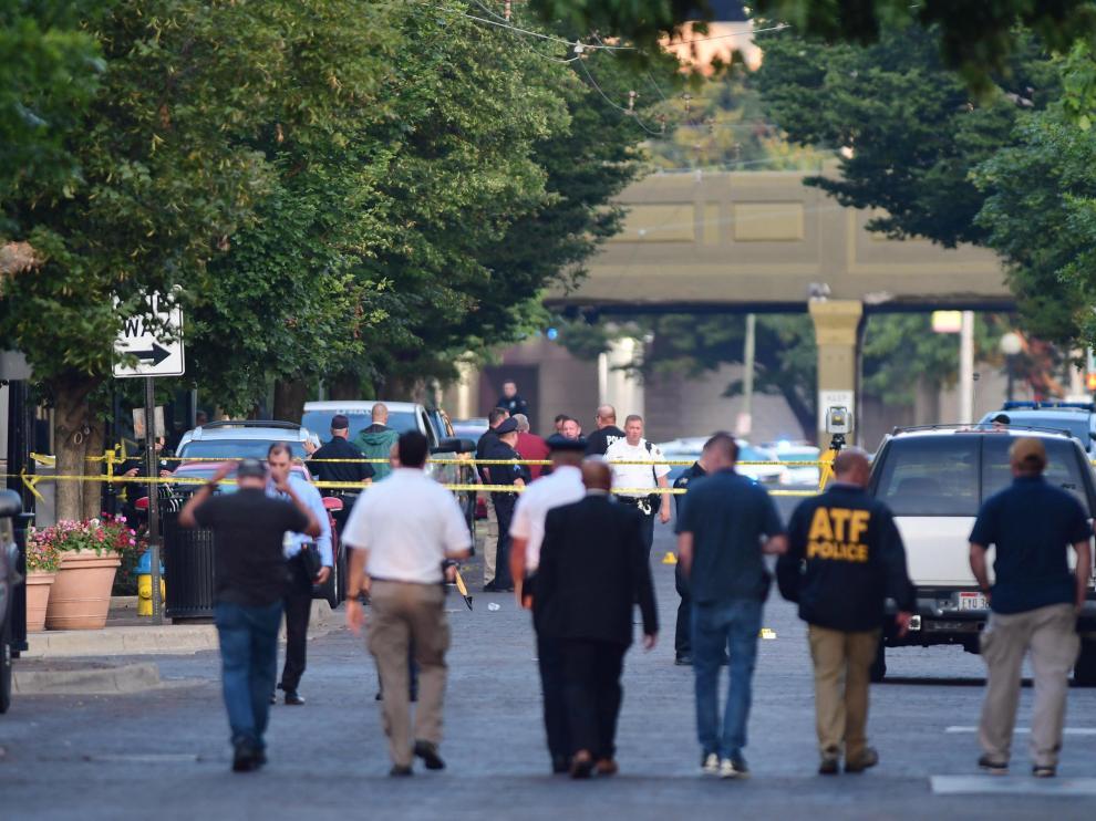 Al menos nueve personas han fallecido en el tiroteo ocurrido en Dayton (Ohio).