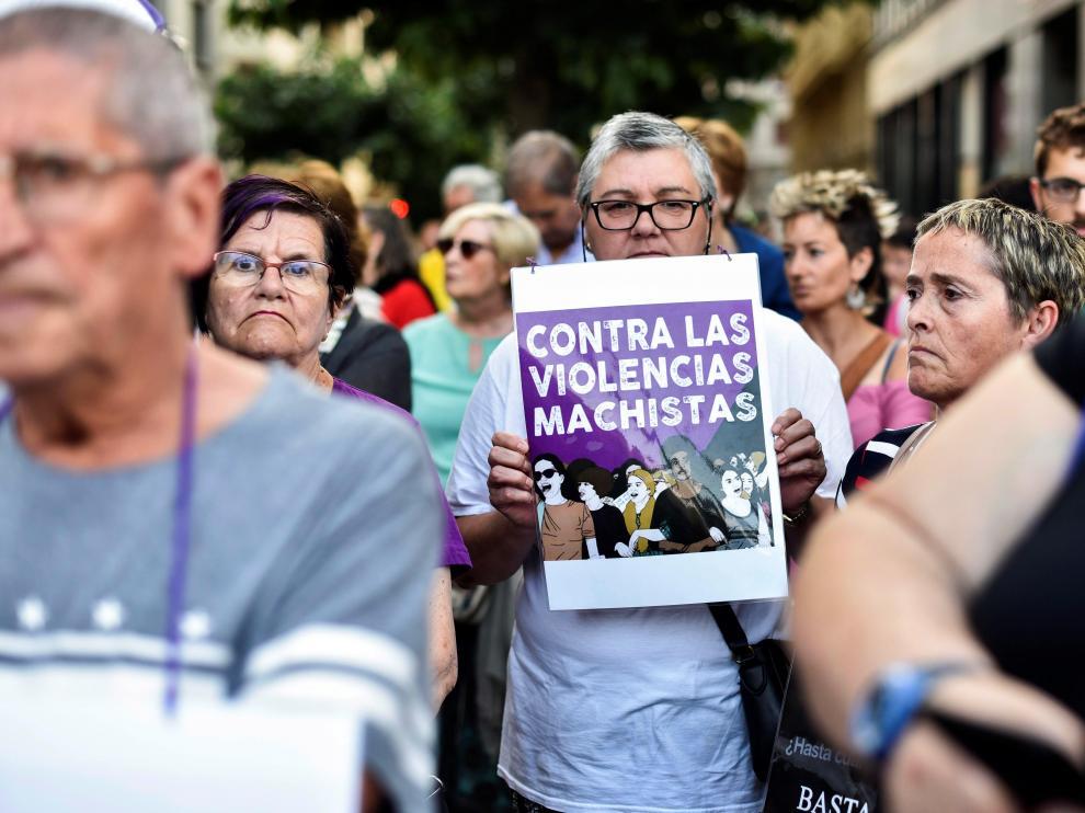 Cientos de personas denuncian en Bilbao los crímenes machistas y las violaciones