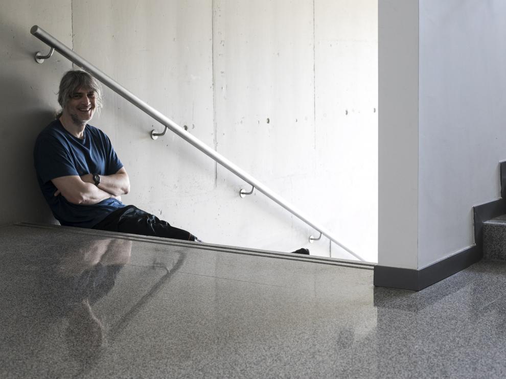 El investigador de la Universidad de Zaragoza, Diego Gutiérrez
