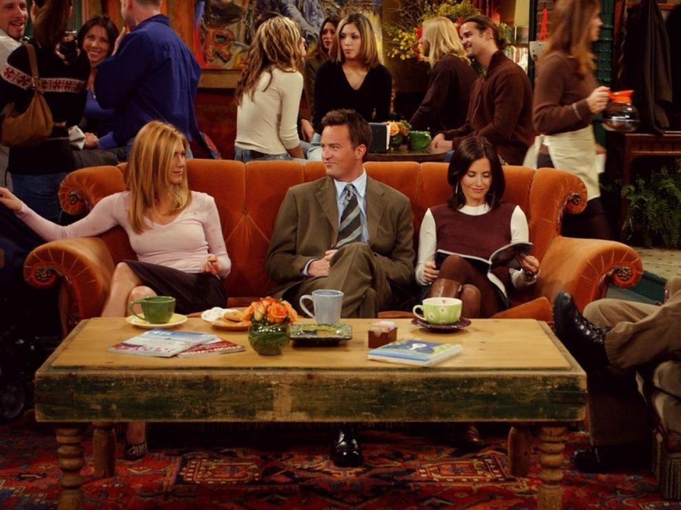 Fotograma de 'Friends'.