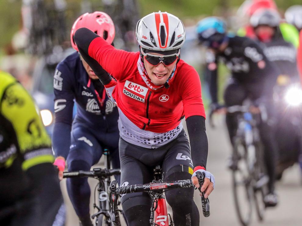 Muere el ciclista Bjorg Lambrecht tras una fuerte caída en la Vuelta a Polonia.