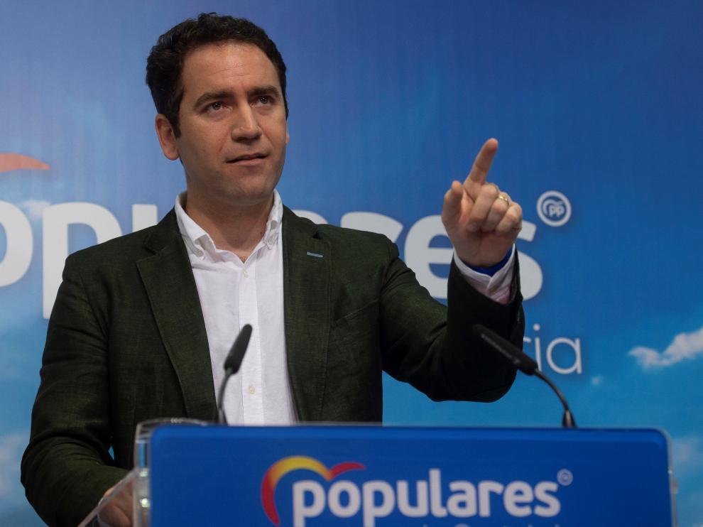 El número dos del PP, Teodoro García Egea.