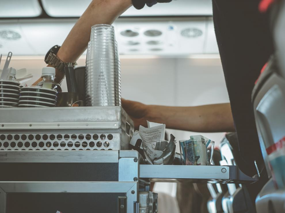 Catering avión