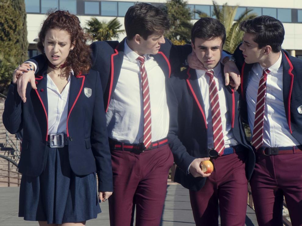 Fotograma de la serie 'Élite', que regresa a Netflix con una segunda temporada el 6 de septiembre.