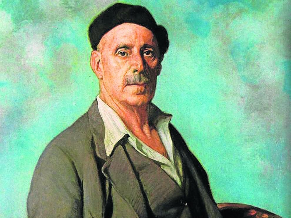 Autorretrato de Ignacio de Zuloaga pintado en 1942.